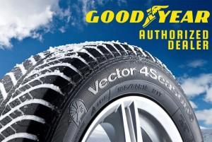 Bandentest winterbanden Vector 4Season Goodyear