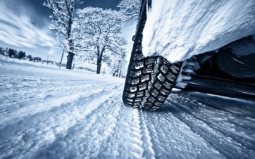 Winterbanden hebben goede grip op winterse wegen